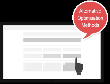 Alternative Optimisation Methods