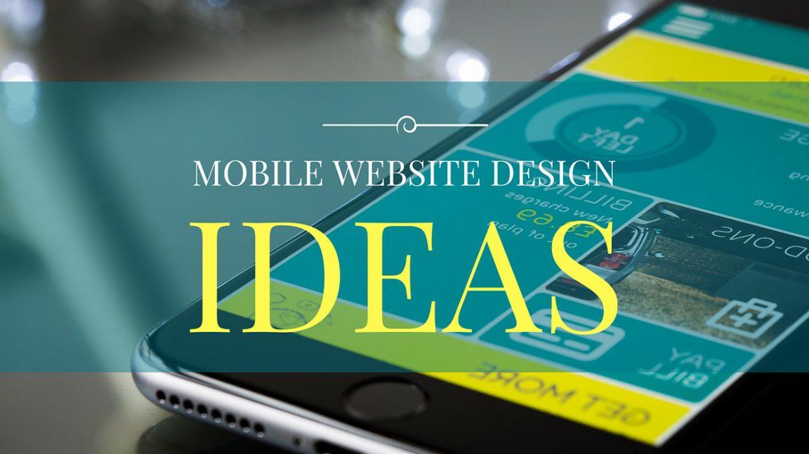 Mobile Website Design Ideas