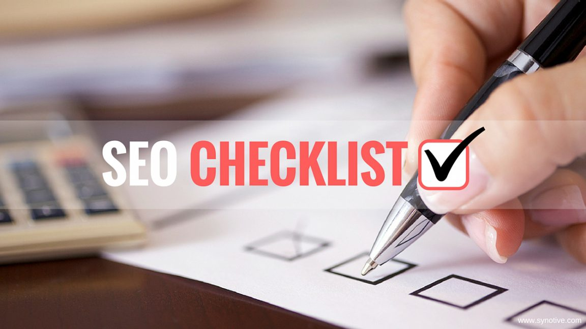 Basic On-Page SEO Checklist