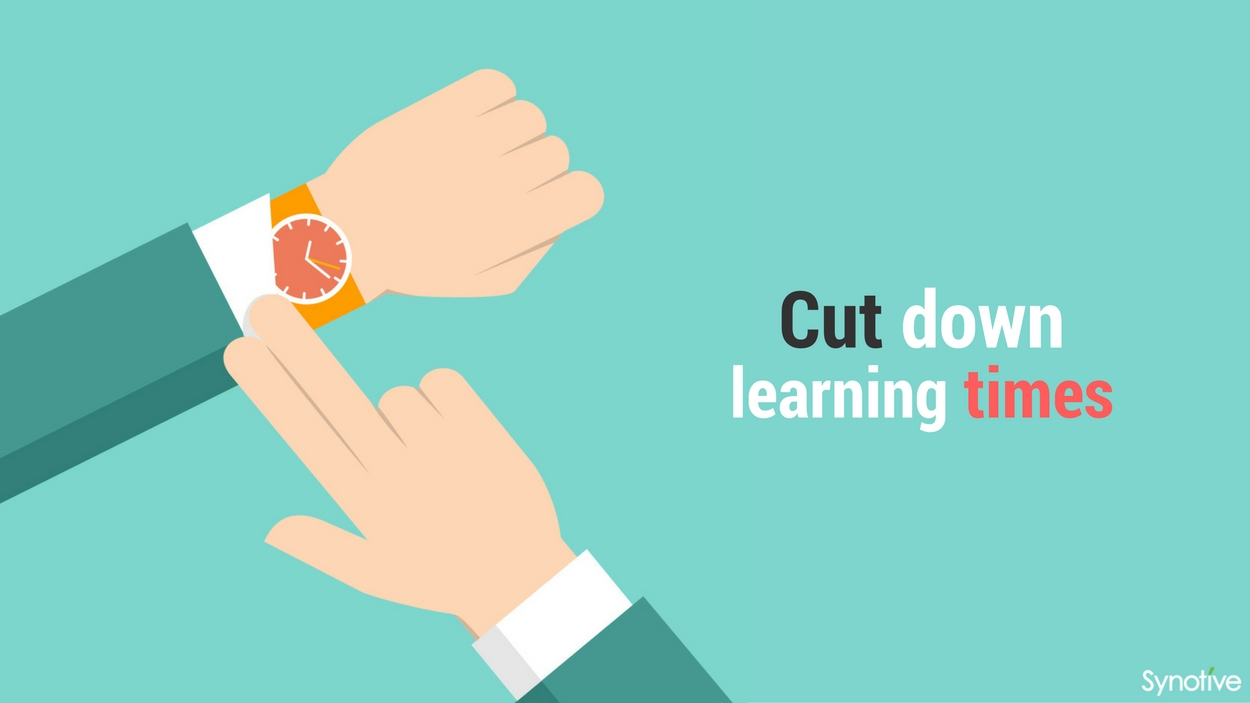 Cut down learning times