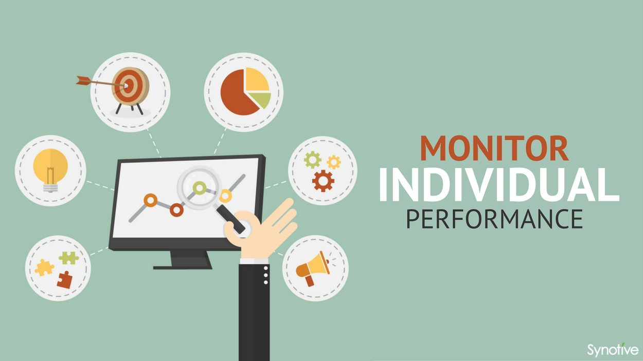 Monitor individual performance
