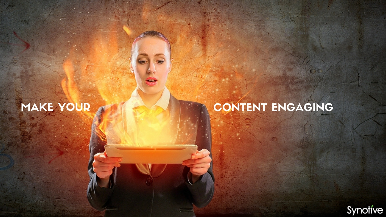 Make your content engaging
